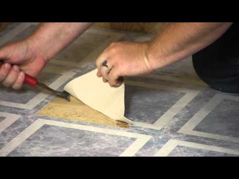 How to Remove Laminate Square Floor Tiles : Flooring Maintenance