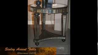Uttermost 24235 Mirrored Accent Table