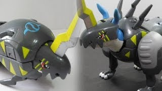 Digimonデジモンtoy-Warp Digivolving Digi-Egg of Friendship友情のデジメンタル to Raidramonライドラモン-review[720p]