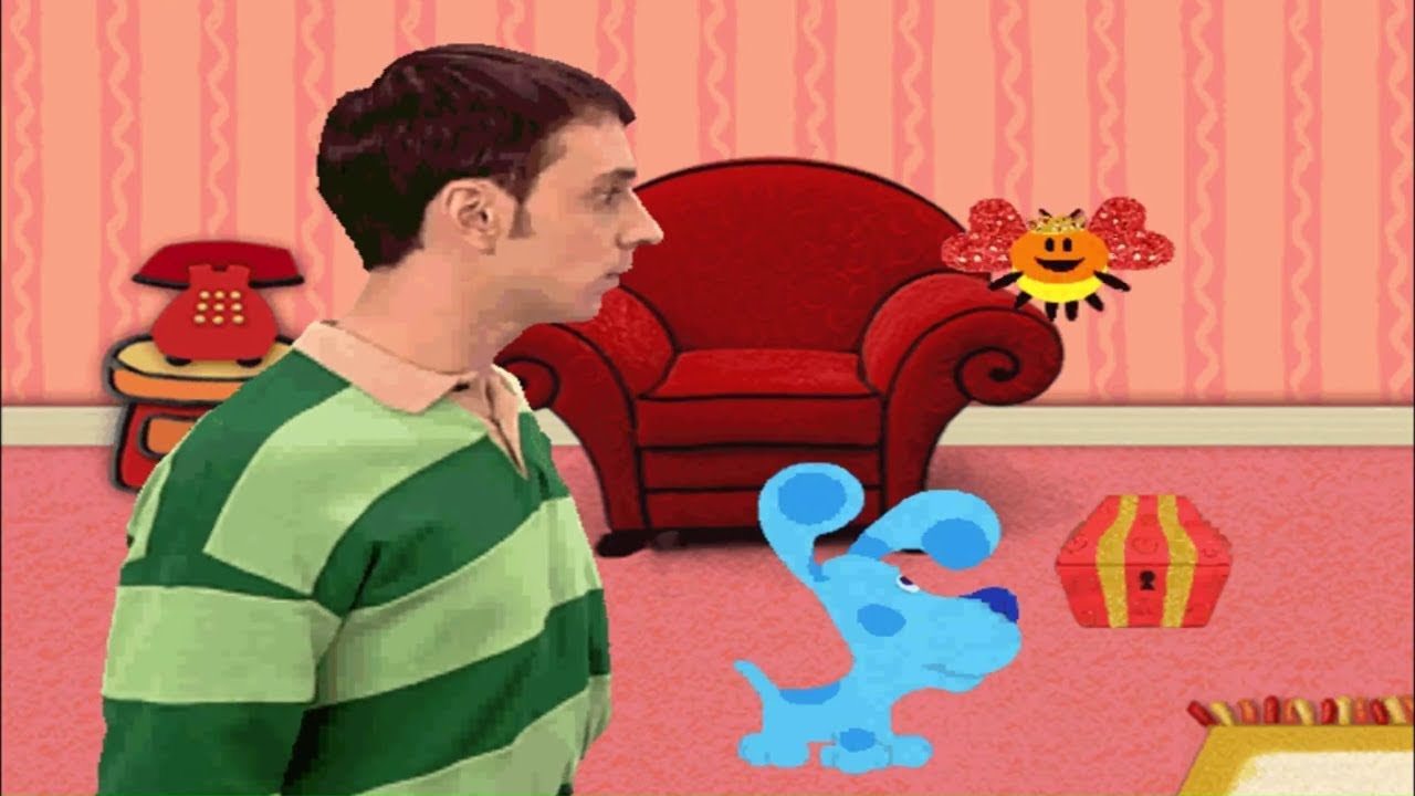 It's just a graphic of Fan Blues Clues Clue