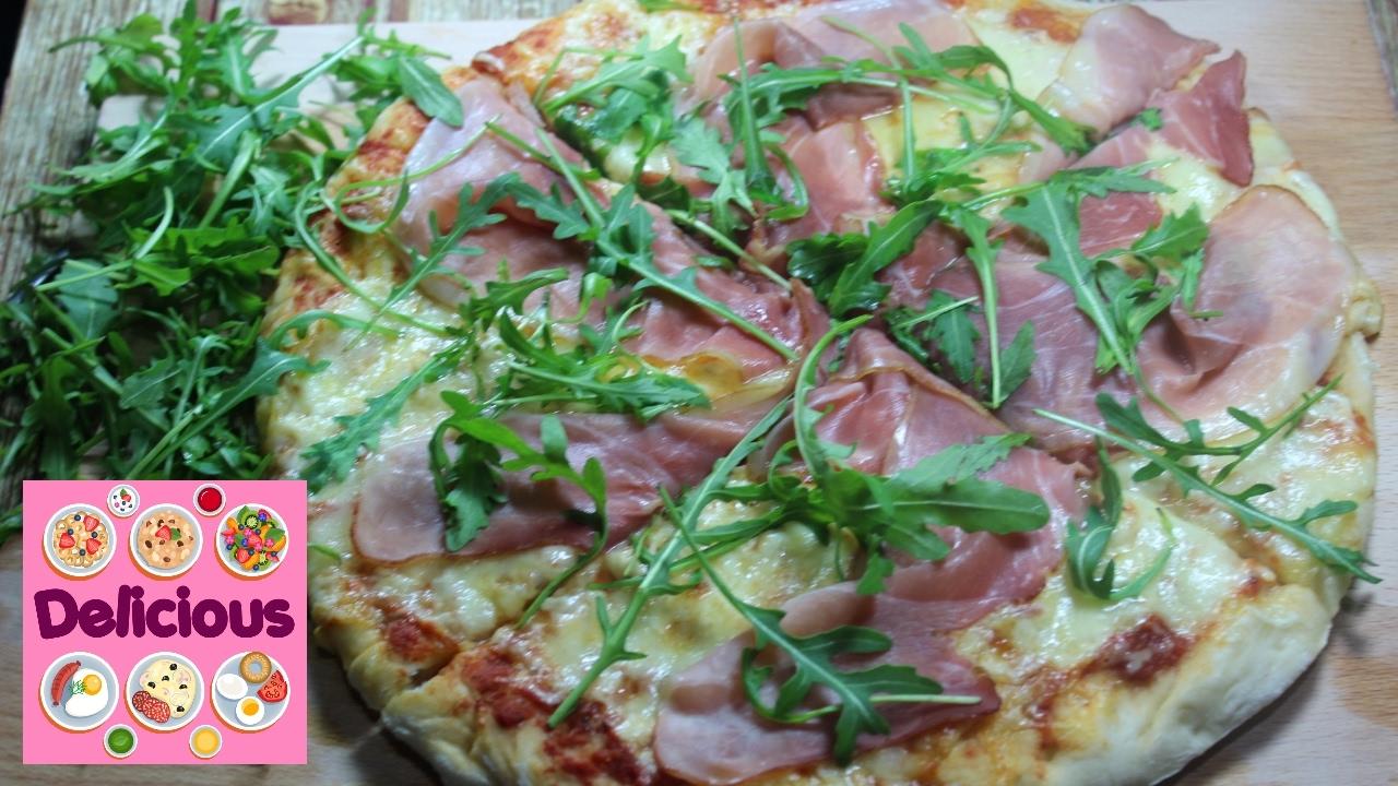 Homemade Prosciutto Pizza Recipe - How