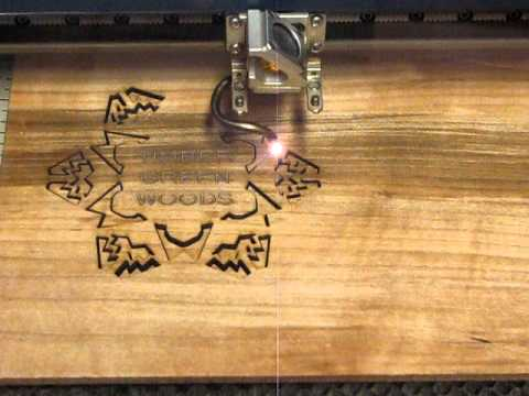 Laser Cut Custom Wood Snowflake Ornament - YouTube