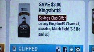 $3 off 1 kingsford charcol  Printable Thumbnail