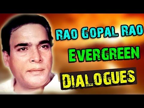 Rao Gopal Rao Best Evergreen Dialogues || Telugu Movies