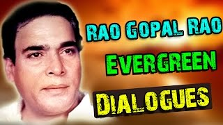 Repeat youtube video Rao Gopal Rao Best Evergreen Dialogues || Telugu Movies