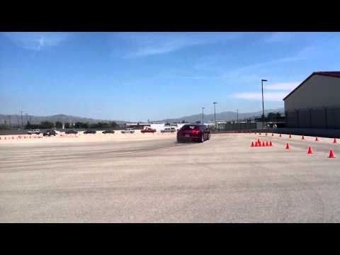 The Auto Gallery Porsche Van Nuys Jet Preview - Panamera Drifting