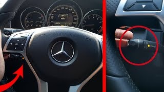 Mercedes W212 Hidden Function of Cruise Control / Hidden Options Cruise Control W212