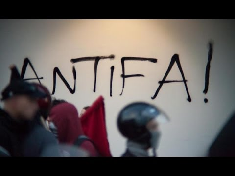 Antifa Anarchists march in the heart of a fascists's area (Athens, Greece)