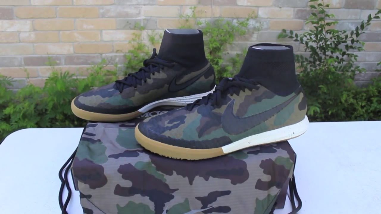 on feet images of release date clearance prices Nike MagistaX Proximo IC Camo - Unboxing