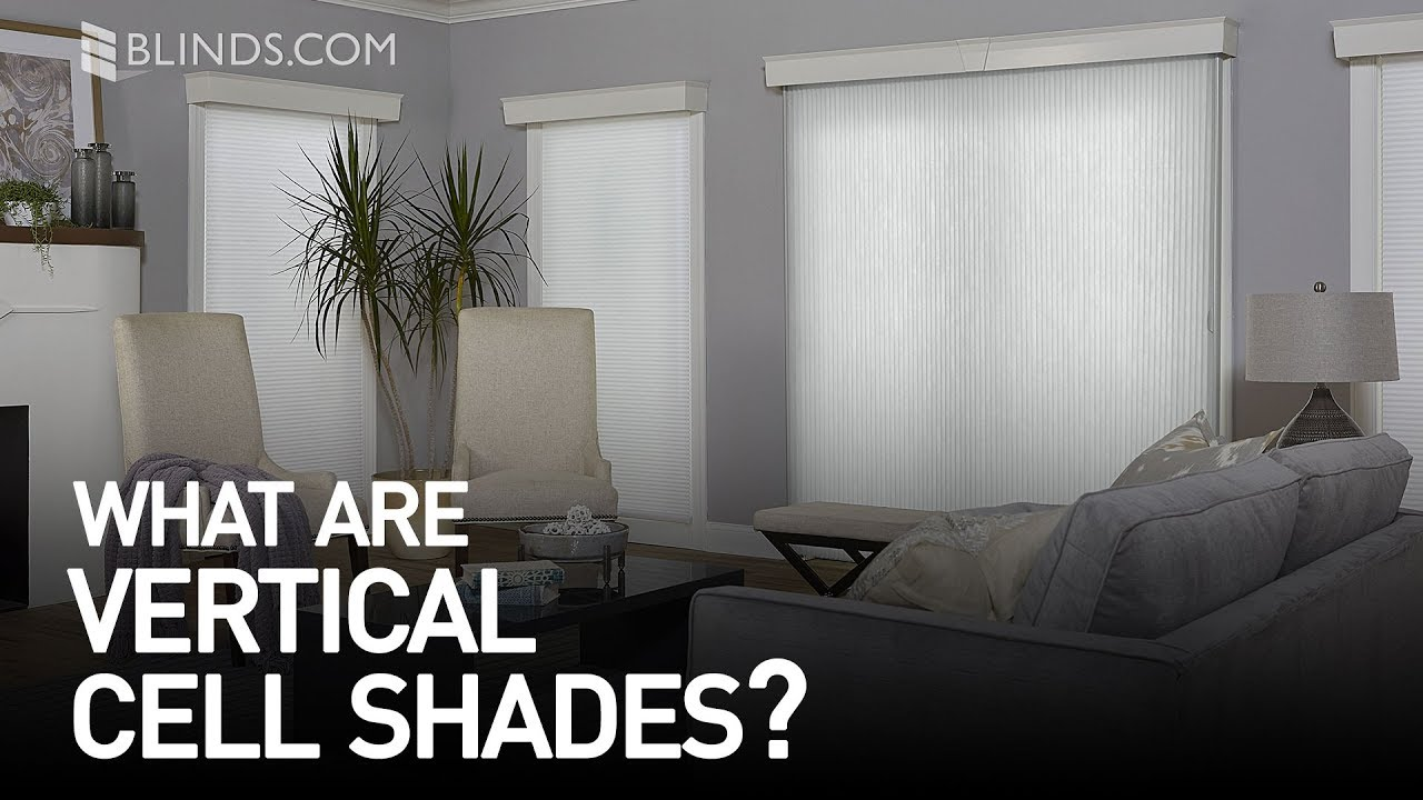 What Are Vertical Cellular Shades Youtube