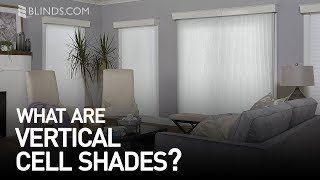 Custom Vertical Cell Shades | Blinds.com™