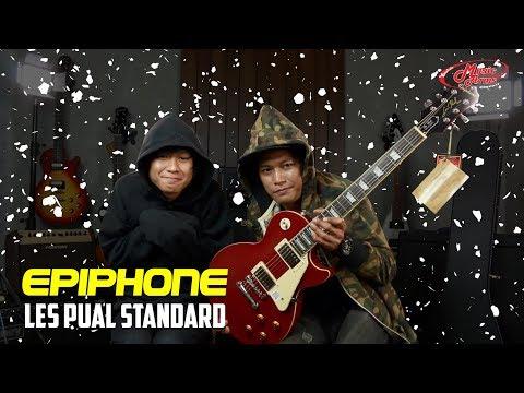 รีวิวกีต้าร์ไฟฟ้า Epiphone Les Paul Standard l เสียงอุ่นมากก!