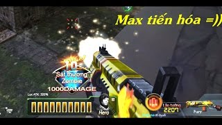 Truy Kích - Fury max tiến hóa & Combo Demon vs Zombie