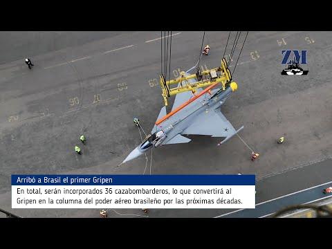 Arribó A Brasil El Primer Saab Gripen