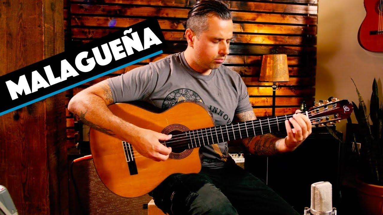 Malagueña Flamenco Guitar Ben Woods Youtube