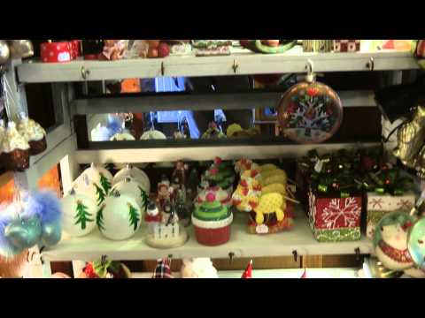 Christmas decorations - Down Memory Lane Letchworth Herts