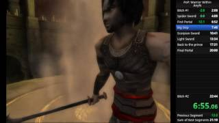 Prince of Persia Warrior Within Any% Speedrun 21:08