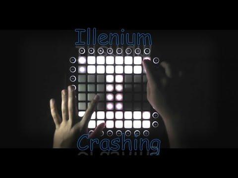 Illenium - Crashing (feat Bahari) (Launchpad Pro Performance)