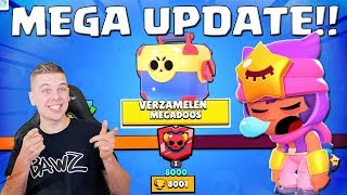 MEGA UPDATE + 8000 TROPHIES IN BRAWL STARS!!