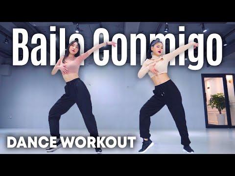 [Dance Workout] Selena Gomez, Rauw Alejandro - Baila Conmigo | MYLEE Cardio Dance Workout