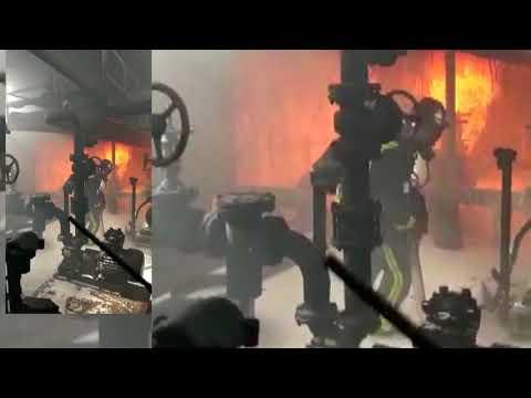 ЧС. В Магадане загорелись нефтяники