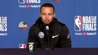 Stephen Curry Interview - Game 3 Preview | Warriors vs Cavaliers | 2018 NBA Finals
