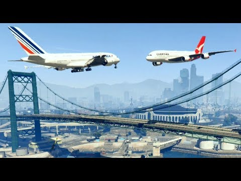 GTA 5 - Amazing\terrible PLANE CRASH Compilation #13 (GTA 5 crazy moments)...