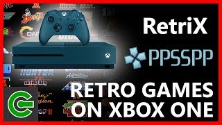 How to run Retrix and PPSSPP on Xbox One