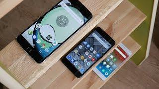 Xiaomi mi a1 vs Meizu m6 note vs Motorola z play, часть 2.
