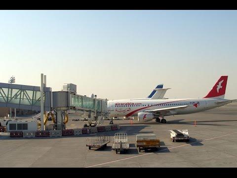 Air Arabia Taxing At Sharjah International Airport