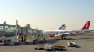 Air Arabia Taxing At Sharjah International Airport