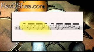 Drum Beat Transcription 01 | Drum Lesson