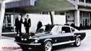 1967 Ford GT350 Mustang with Carroll Shelby Interview Commercial CARJAM TV HD