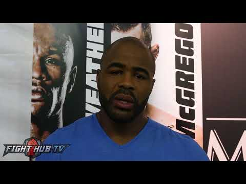 "Rashad Evans ""Conor McGregor has a chance to KO Mayweather in 4 rounds"""