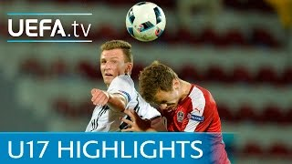 UEFA Under-17 highlights: Germany 4-0 Austria