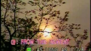 Shania Twain From This Moment On Karaoke