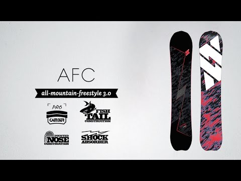 AFC - Volkl Snowboards 15/16 Product Review - Freestyle All-Mountain