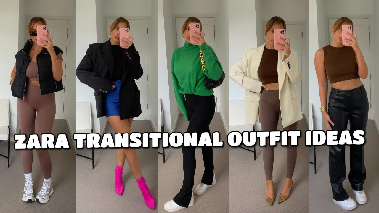 ZARA TRANSITIONAL AUTUMN OUTFIT IDEAS | STYLING HAUL