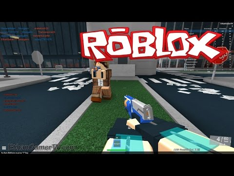 Let's play ROBLOX! Nerf FPS Advanced
