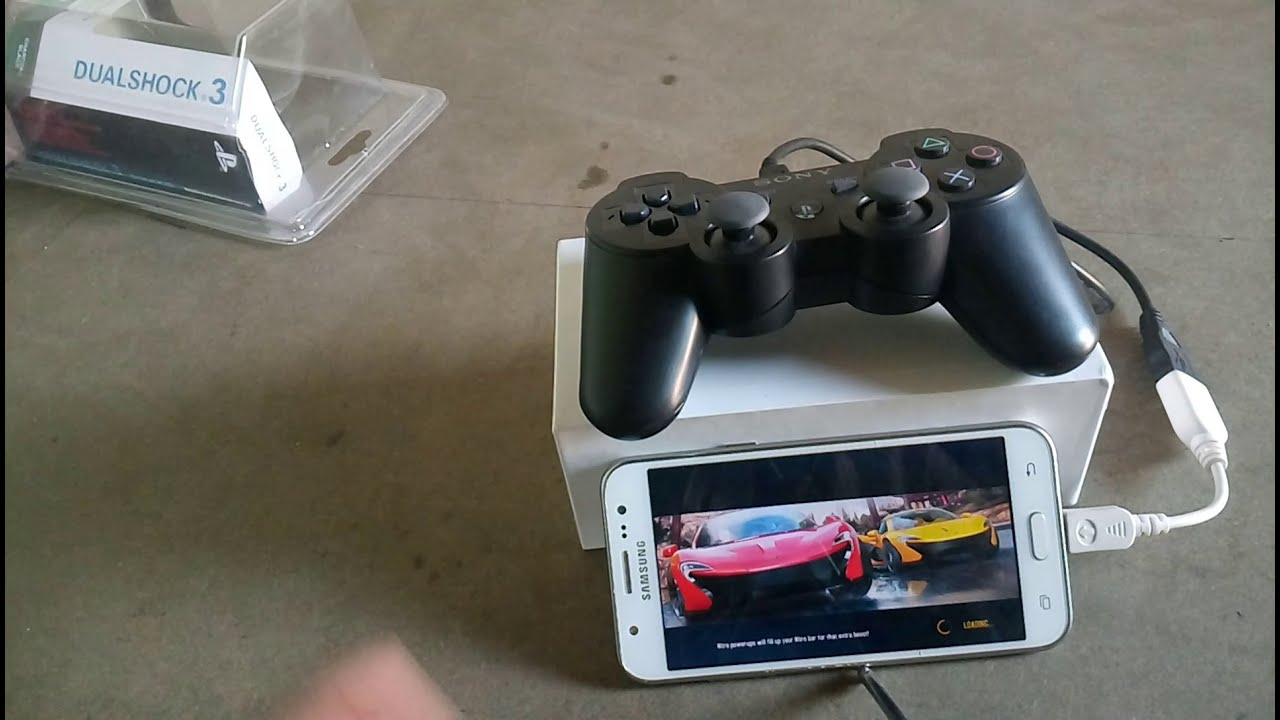 Samsung Galaxy J5 PS3 Game Controller Gameplay