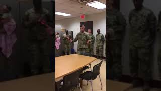 Irma getting promoted to SFC