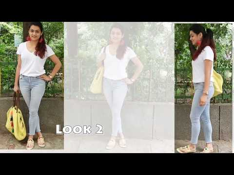 4f725e61ee5dd7 6 different looks with your high waist skinny jeans