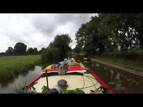 Narrowboat trip: Tamworth to Fradley Junction