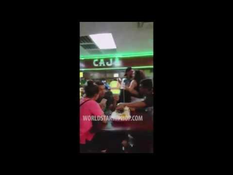 Download Massive Brawl Erupts In A Dallas Taco Shop!