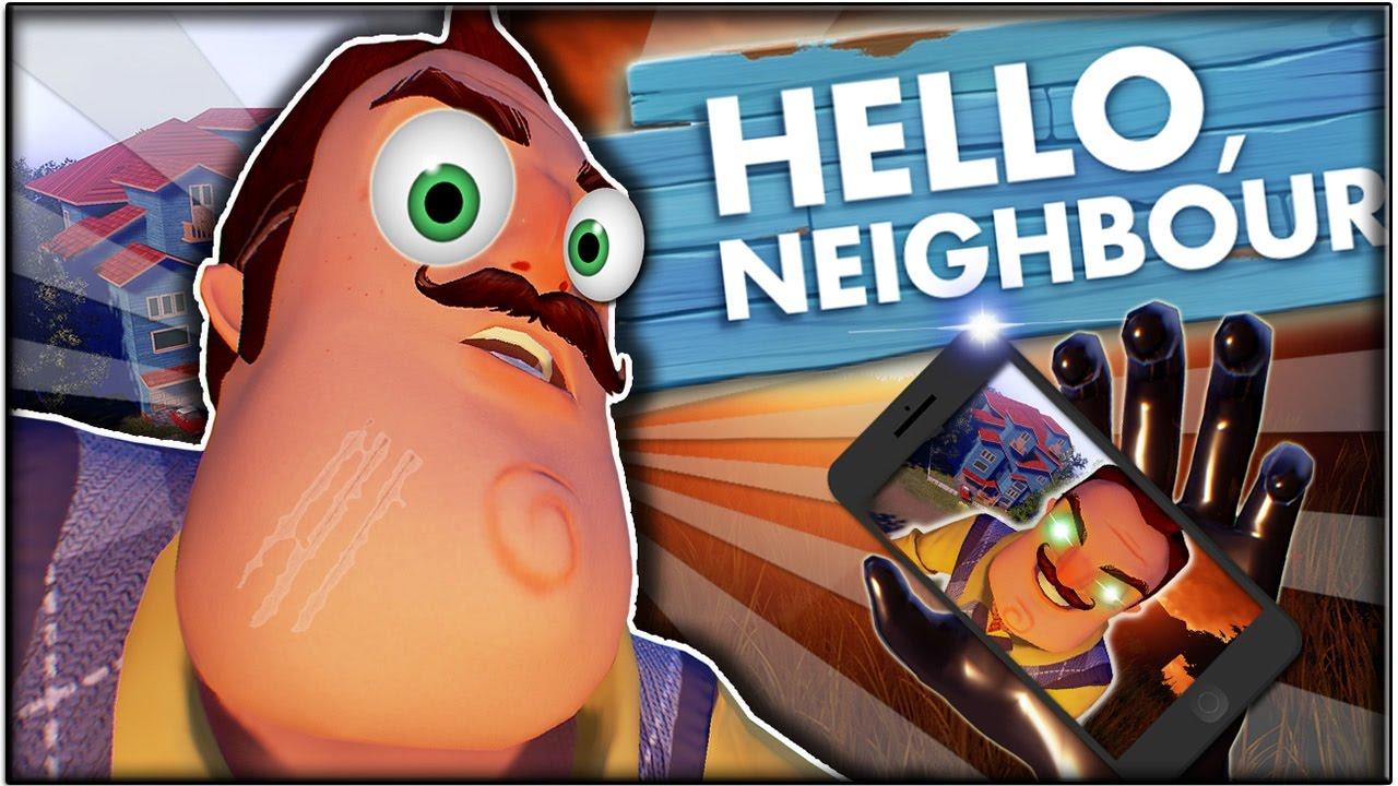 HELLO NEIGHBOR Auf Dem HANDY YouTube - Minecraft hello neighbor spielen