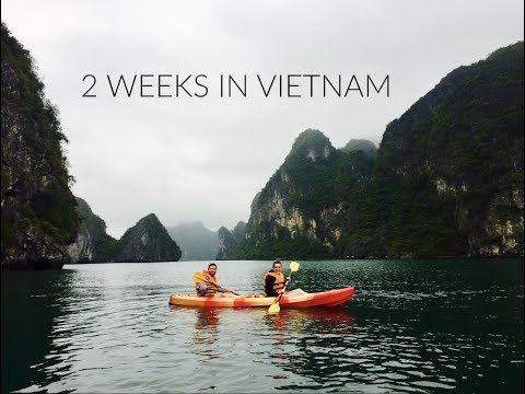 2 week Vietnam Travel Video