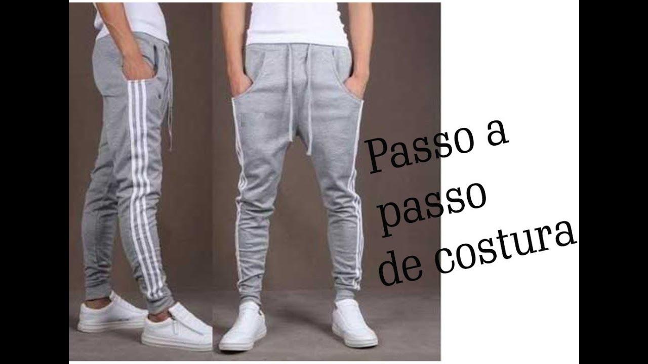b6037d321 ❁ calça saruel masculina ❁ - YouTube