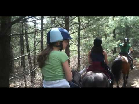 EAF Camp: Trail Riding at Myles Standish State Forest