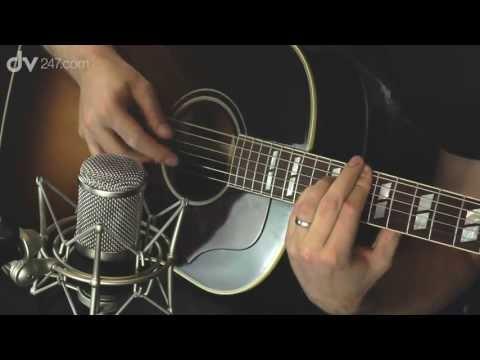 Fame Vintage F47 Acoustic Guitar Recording