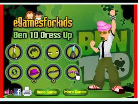 Ben 10 Dress Up - Play The Free Game Online